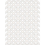 Creative Expressions - 3D Embossing Folders - Twill Weave