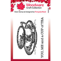 Creative Expressions - Woodware - Clear Photopolymer Stamps - Singles - Cup of Tea