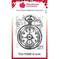 Creative Expressions - Woodware - Clear Photopolymer Stamps - Singles - Pocket Watch