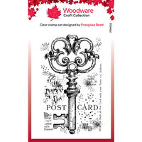 Creative Expressions - Woodware - Clear Photopolymer Stamps - Singles - Old Key