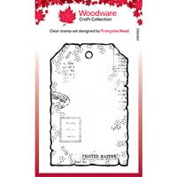 Creative Expressions - Woodware - Clear Photopolymer Stamps - Singles - Small Paper Tag