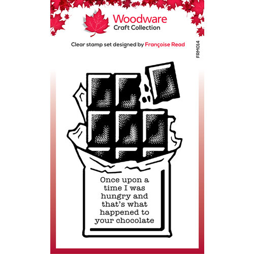 Creative Expressions - Woodware - Clear Acrylic Stamps - Singles - Chocolate