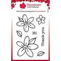 Creative Expressions - Woodware - Clear Photopolymer Stamps - Singles - Daisies
