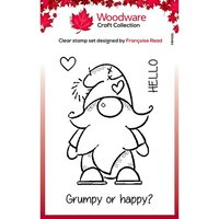 Creative Expressions - Woodware - Clear Photopolymer Stamps - Singles - Gnome