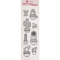 Creative Expressions - Woodware Clear Singles - Clear Photopolymer Stamps - Succulents