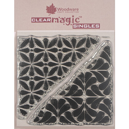 Creative Expressions - Woodware - Clear Acrylic Stamps - Singles - Tile Corners