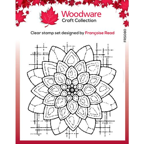 Creative Expressions - Woodware - Clear Acrylic Stamps - Blossom