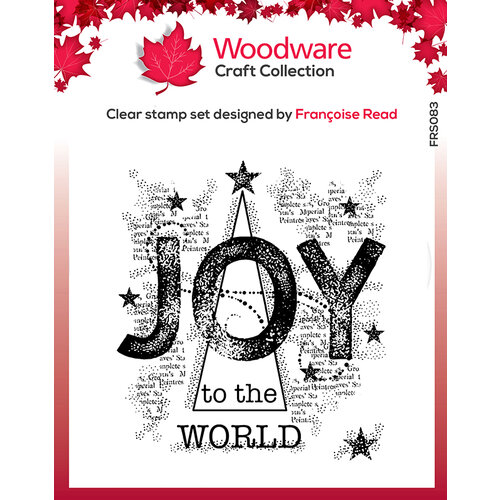 Creative Expressions - Woodware - Clear Acrylic Stamps - Singles - Joy