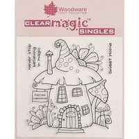 Creative Expressions - Woodware Clear Singles - Clear Photopolymer Stamps - Fairy House