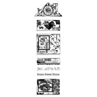 Creative Expressions - Woodware Clear Singles - Clear Photopolymer Stamps - Build A Home