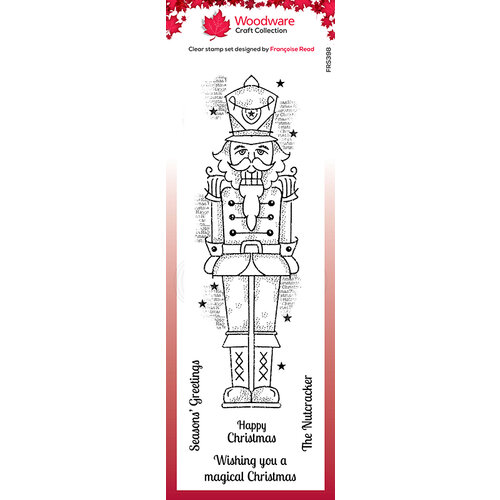 Creative Expressions - Christmas - Woodware - Clear Photopolymer Stamps - Singles - Nutcracker