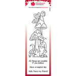 Creative Expressions - Woodware - Clear Photopolymer Stamps - Singles - Magic Mushrooms