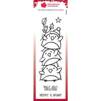 Creative Expressions - Christmas - Woodware - Clear Photopolymer Stamps - Singles - Robin Stack