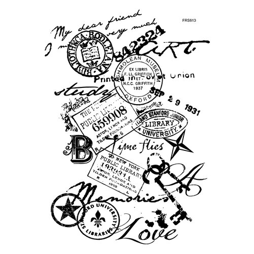 Creative Expressions - Woodware Clear Singles - Clear Photopolymer Stamps - Memories
