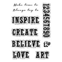 Creative Expressions - Woodware Clear Singles - Clear Photopolymer Stamps - Vintage Inspiration