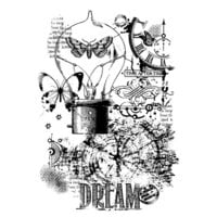 Creative Expressions - Woodware - Clear Photopolymer Stamps - Singles - Dream Machine