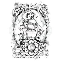 Creative Expressions - Woodware Clear Singles - Clear Photopolymer Stamps - Ship Ahoy