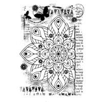 Creative Expressions - Woodware Clear Singles - Clear Photopolymer Stamps - Ancient Mandala
