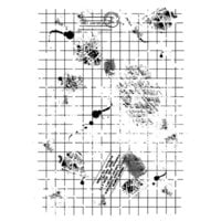 Creative Expressions - Woodware Clear Singles - Clear Photopolymer Stamps - Dirty Grid