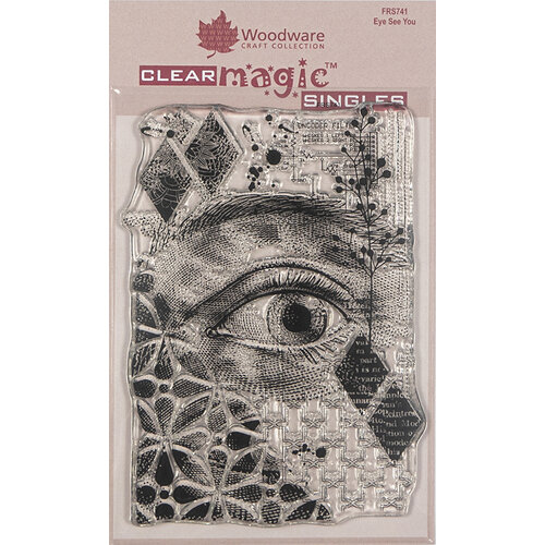 Creative Expressions - Woodware - Clear Acrylic Stamps - Singles - Eye See You