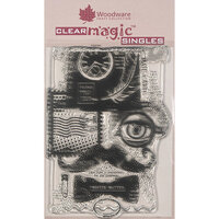 Creative Expressions - Woodware - Clear Acrylic Stamps - Singles - Mr Vintage