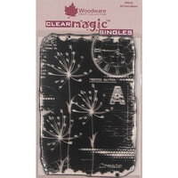 Creative Expressions - Woodware - Clear Acrylic Stamps - Singles - Art from Nature