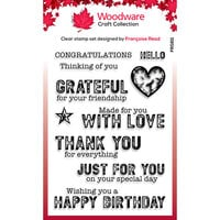 Creative Expressions - Woodware - Clear Photopolymer Stamps - Made For You