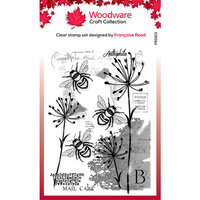 Creative Expressions - Woodware - Clear Acrylic Stamps - Three Bees