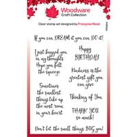 Creative Expressions - Woodware - Clear Acrylic Stamps - Kindness