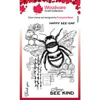 Creative Expressions - Woodware - Clear Acrylic Stamps - Bee Kind