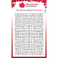 Creative Expressions - Woodware - Clear Acrylic Stamps - Fine Mesh