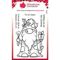 Creative Expressions - Woodware - Christmas - Clear Acrylic Stamps - Singles - Seasonal Gnome