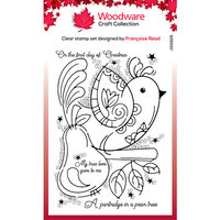 Creative Expressions - Woodware - Clear Acrylic Stamps - Singles - Partridge