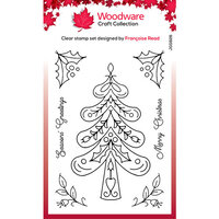 Creative Expressions - Woodware - Clear Acrylic Stamps - Singles - Nordic Tree