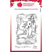 Creative Expressions - Woodware - Clear Acrylic Stamps - Singles - Baby Deer