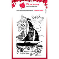 Creative Expressions - Woodware - Clear Photopolymer Stamps - Singles - Sail Away