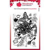 Creative Expressions - Woodware - Clear Photopolymer Stamps - Singles - Queen of Hearts
