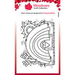 Creative Expressions - Woodware - Clear Photopolymer Stamps - Singles - Garden Rainbow