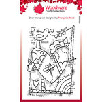 Creative Expressions - Woodware - Clear Photopolymer Stamps - Singles - Rainbow Heart