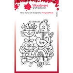 Creative Expressions - Woodware - Clear Photopolymer Stamps - Singles - Dream Garden