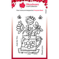 Creative Expressions - Woodware - Clear Photopolymer Stamps - Singles - Flower Jug