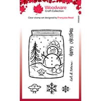 Creative Expressions - Woodware Clear Singles - Clear Photopolymer Stamps - Christmas - Snow Jar