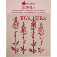 Creative Expressions - Woodware - Stencils - 6 x 6 - Fleurs