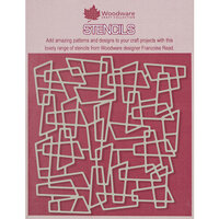 Creative Expressions - Woodware - 6 x 6 Stencils - Metal Mesh