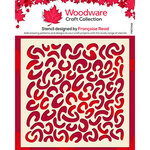 Creative Expressions - Woodware - Stencil - Faux Leopard