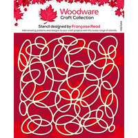 Creative Expressions - Woodware - Stencil - Oval Mesh