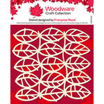 Creative Expressions - Woodware - Stencil - Leaf Panel