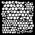 Creative Expressions - Woodware - Stencils - Bubbles