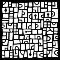 Creative Expressions - Woodware - Stencils - Mini Tiles