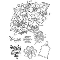 Creative Expressions - Woodware Clear Singles - Clear Photopolymer Stamps - Great Big Bunch